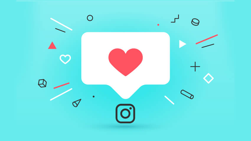 Instagram Likes Graphic