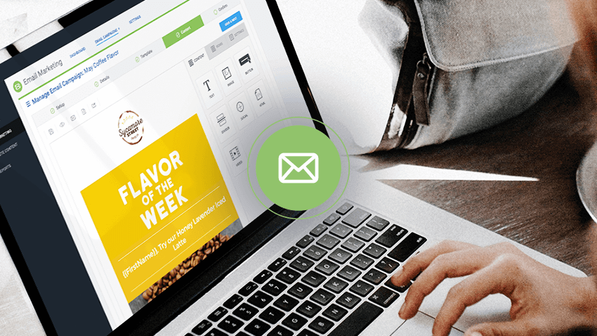 DirectLync's email marketing module
